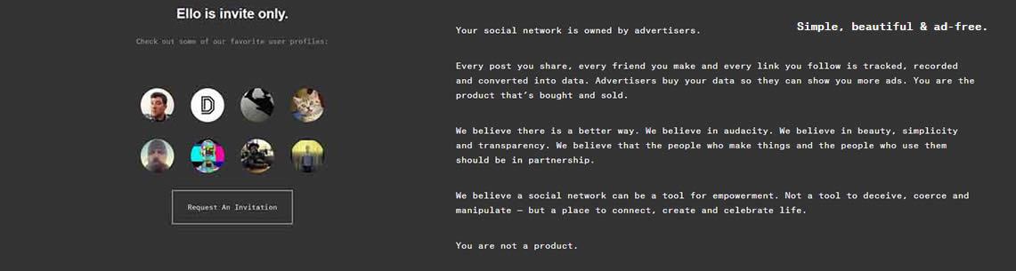Ello social anti Facebook Circolo dei Tignosi Blog