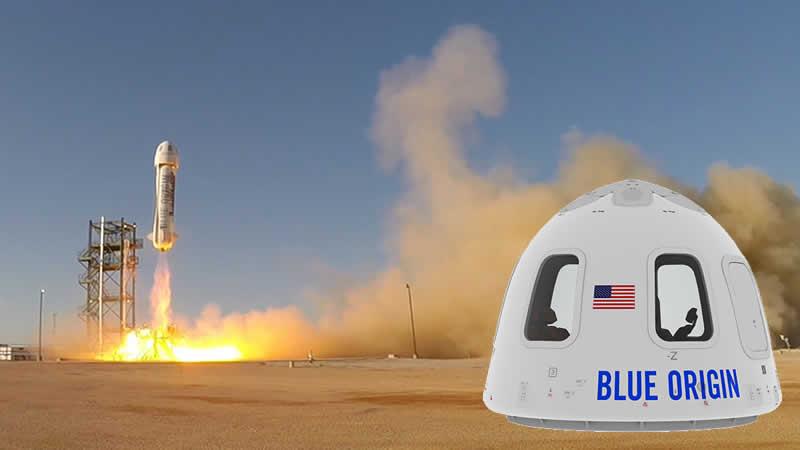 Blue Origin Lancio e capsula Orbitale